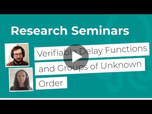 Nomadic Labs Research Seminars #13
