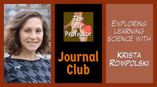 The A&P Professor Journal Club | Krista Rompolski & Kevin Patton