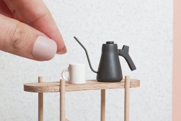 The Big World Of Tiny Cafe Miniatures