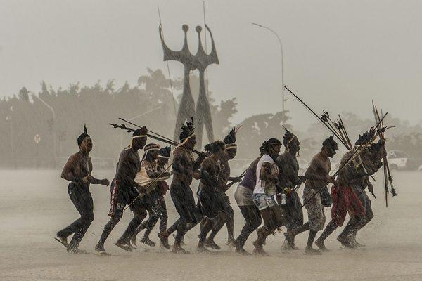 Brazil, indigenous rights (in Portuguese): APIB recorre novamente ao STF para evitar novo genocídio indígena (Photo: Valter Campanato/Agência Brasil)