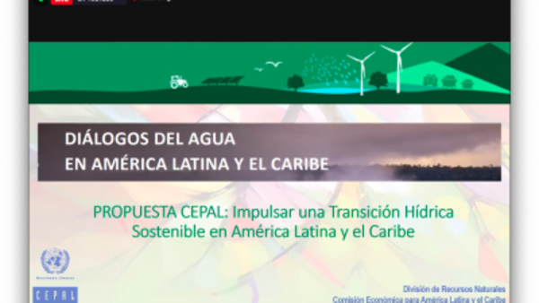 Regional, SDG6: Water dialogues in Latin America and the Caribbean to accelerate SDG 6