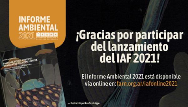 Argentina, New report:, Lanzamiento del IAF 2021