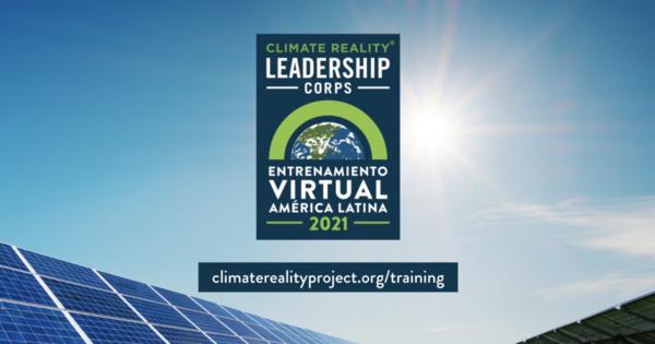 Upcoming training opportunity: Entrenamiento de cambio climático para América Latina