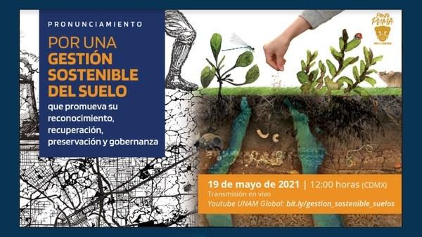 México, Event Recording: Gestión sostenible del suelo que promueva su reconocimiento, recuperación, preservación y gobernanza