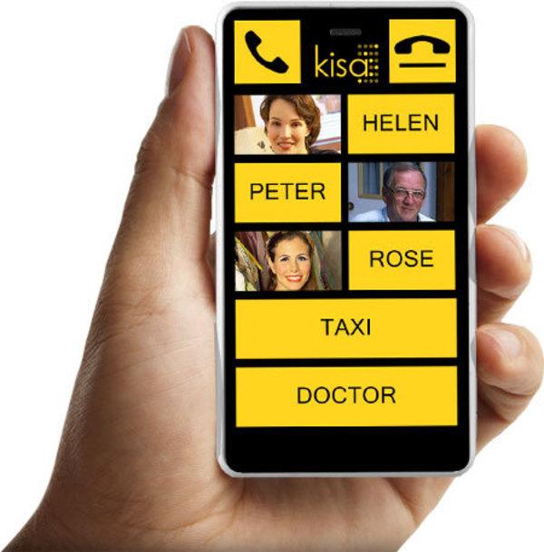 KISA revive el sector de móviles para seniors desde 214$.