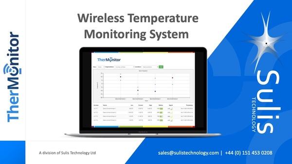 Commercial Wireless Temperature Monitoring System