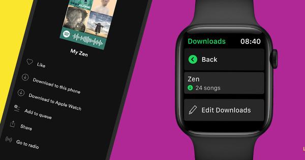 Spotify finally adds offline music downloads on Apple Watch