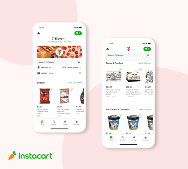 Instacart Expands 7-Eleven Delivery Nationwide