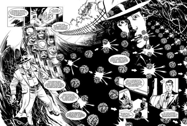 """""""La Bombe"""" illustrée par Denis Rodier (éd. Glénat)."""
