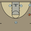 Man Set with 2 Stagger Screens | Hoop Coach