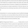 Resolution for Abolishing Corporate Personhood