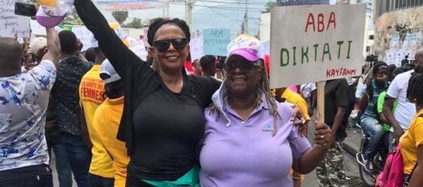 Marche des femmes du 3 avril dernier.