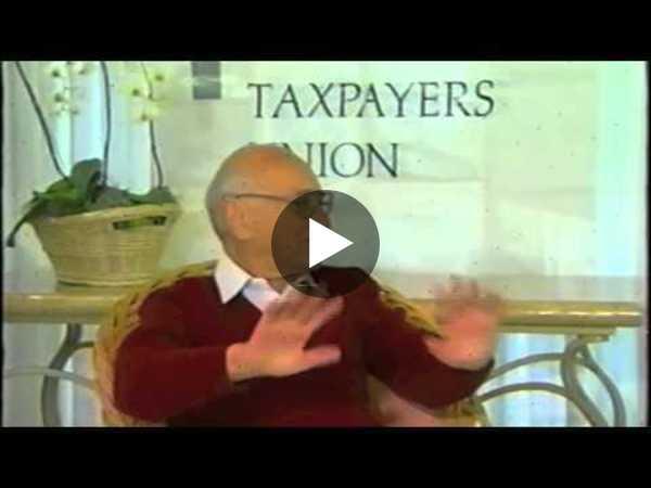 Milton Friedman Full Interview on Anti-Trust and Tech