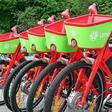 E-Bike Flotte von Lime in Hannover am Start