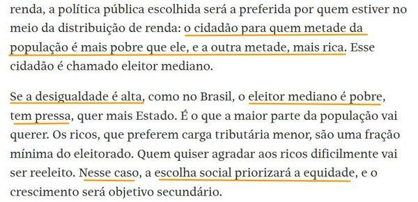 Trecho da coluna de Samuel Pessôa na Folha (23/05/21)