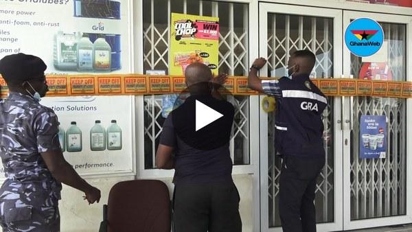 GRA shuts down 7 oil marketing companies in Accra