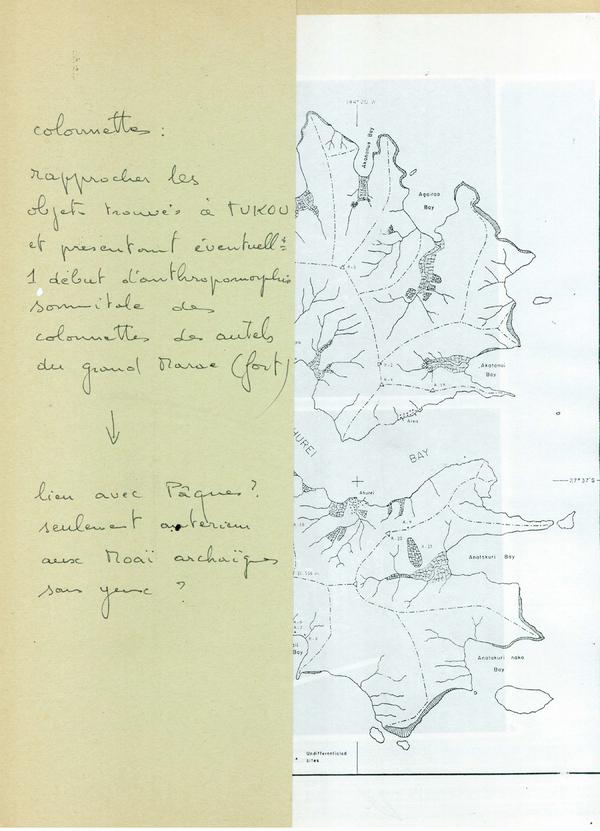 Extrait des notes écrites par Marc Liblin pour Jérôme Walczak