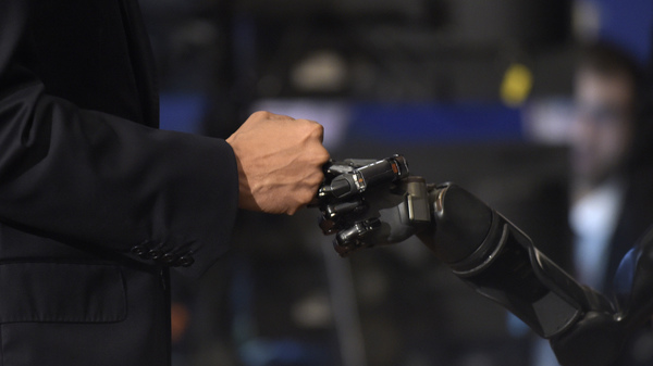 Scientists Bring The Sense Of Touch To A Robotic Arm : Shots