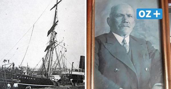 """Wie ein Seemann aus Rostock als Einziger den Untergang der """"Principia"""" überlebte"""