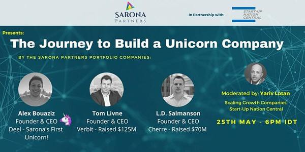 The Unicorn Journey By Three Legendary Founders  | 6:00 PM