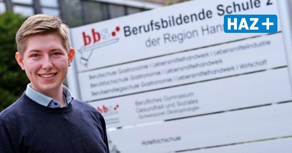 Dieser Schüler aus Hannover macht Abitur und Ausbildung gleichzeitig