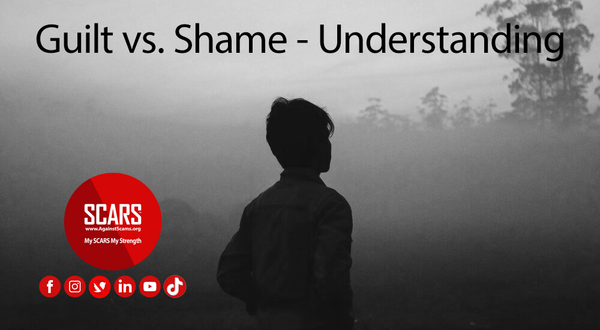 Guilt vs. Shame - Understanding [INFOGRAPHIC] | Impact of Scams on Victims
