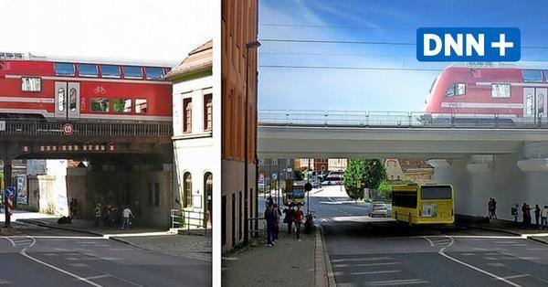 Bauarbeiten in Dresden-Plauen: Ersatzverkehr für Bahnreisende