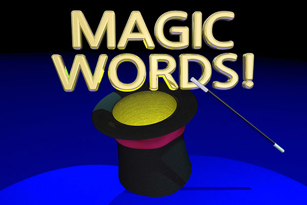 Magic words? Photo: Iqoncept, dreamstime.com