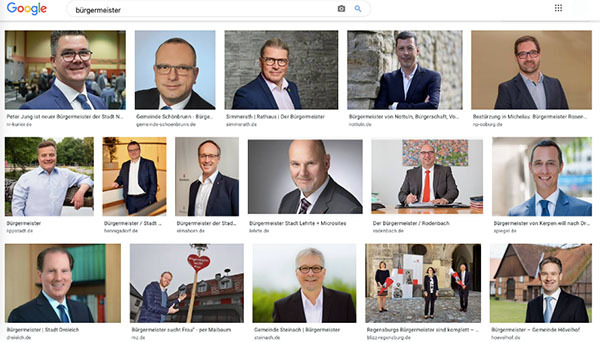 The real problem behind the German word for 'mayor' can be revealed through a simple Google search: 91 percent of mayors in Germany are men.
