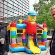 NP-Serie zur Corona-Krise: Messebauer steigen um auf Hüpfburgen-Verleih