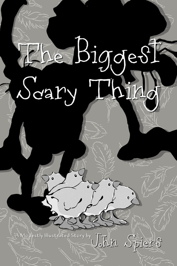 """Draft Cover for """"The Biggest Scary Thing"""" (hopefully with just the right amount of """"scary"""")"""