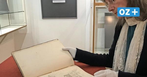 Skizzenbuch gefunden: Museum zeigt alte originale historische Grimmener Zeichnungen