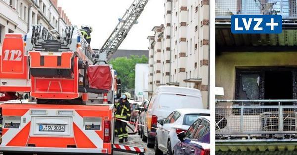 Drei Häuser brennen in Leipzig-Mockau: Dramatische Rettungsaktion