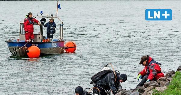 Nach Dreifachmord in Dänischenhagen und Kiel: Taucher finden Waffenteile im NOK