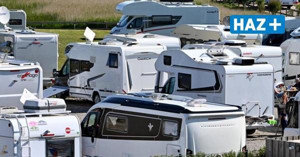 Auf den Campingplätzen in Schleswig-Holstein bleibt es eng