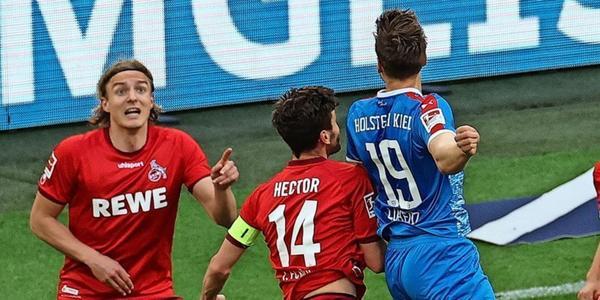 Joker-Tor nach 20 Sekunden: Holstein Kiel nach Sieg über Köln vor erstem Bundesliga-Aufstieg