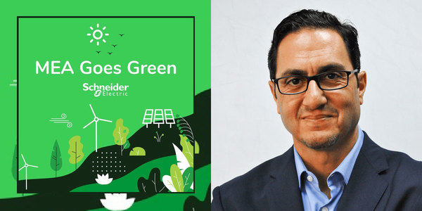 NXN CEO talks to Schneider Electric's MEA Goes Green Podcast
