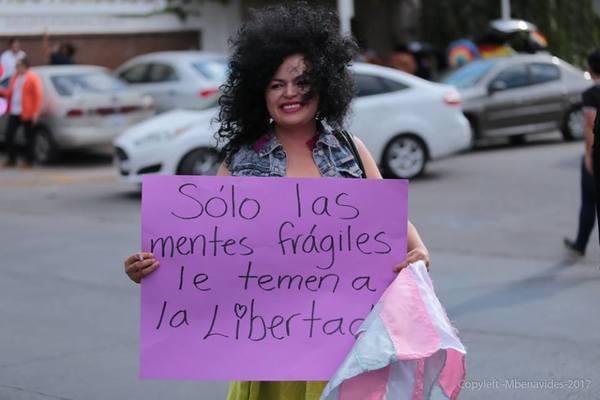 Marcha LGBT+ de Chihuahua 2017 (Foto: Mbenavides)