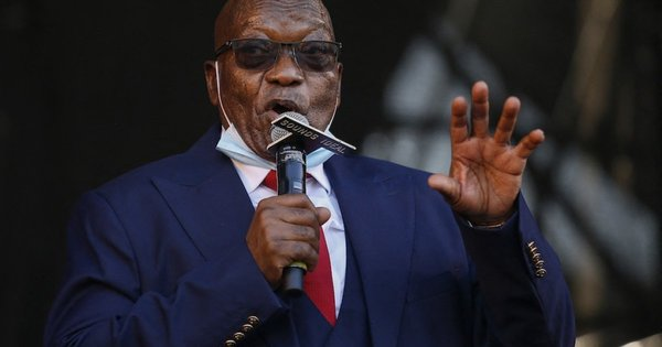Zuma back at ConCourt to appeal R10m cost order   eNCA