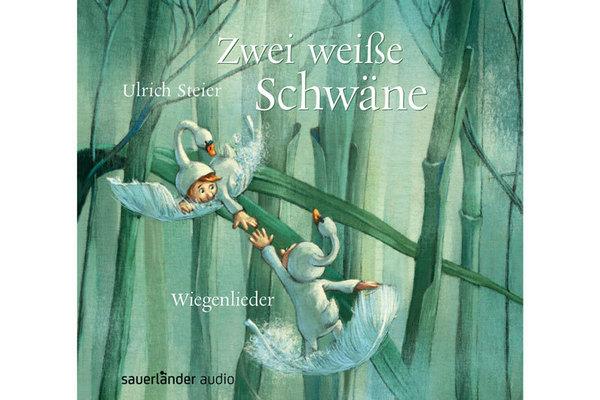 """Cover der CD """"Zwei weiße Schwäne"""", erschienen bei Argon Sauerländer Audio"""