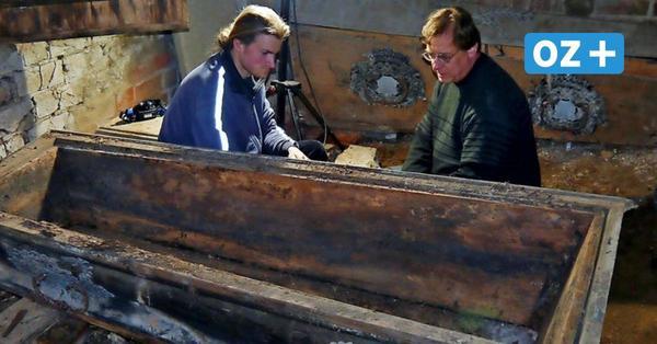 Neue Entdeckungen in Lüdershagen: Das fanden Archäologen in der Gruft