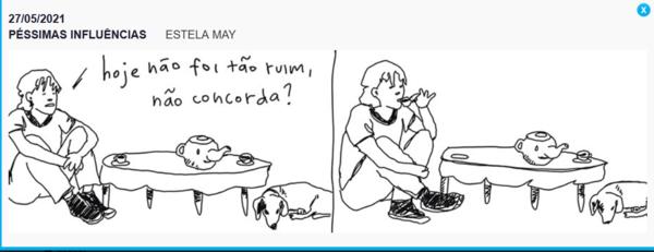 Estela May na Folha de S. Paulo