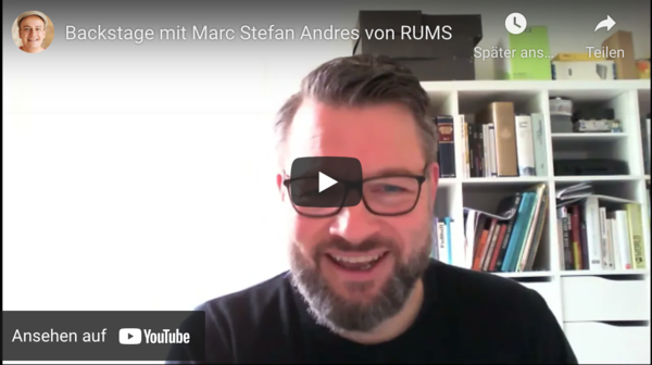 Marc Stefan Andres von RUMS
