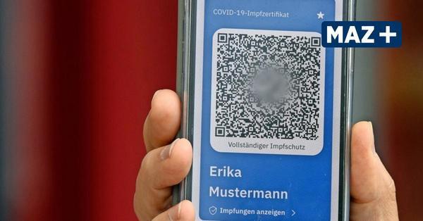 Digitaler Impfpass wird in Brandenburg getestet: Wie die App funktioniert