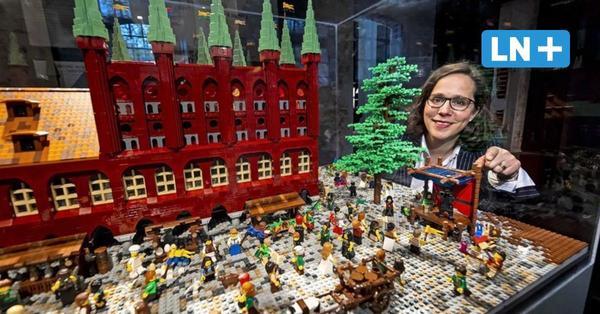 Lübeck wird Lego-Land: Hansemuseum zeigt mittelalterliche Szenen aus bunten Steinen