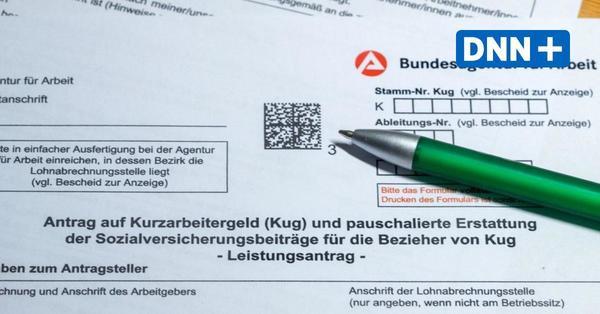 Täglich werden bis zu sieben Millionen Euro Kurzarbeitergeld in Sachsen ausgezahlt