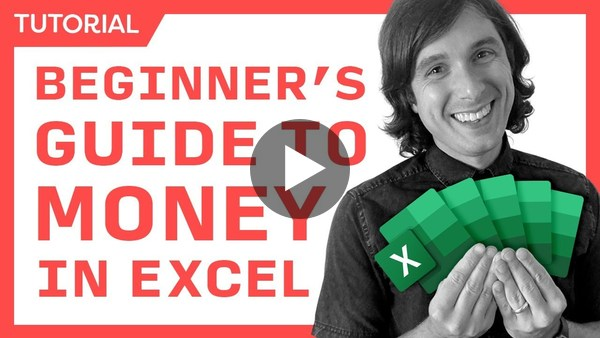 Money In Excel for Beginners - Expenses, Budget, & Financial Planning