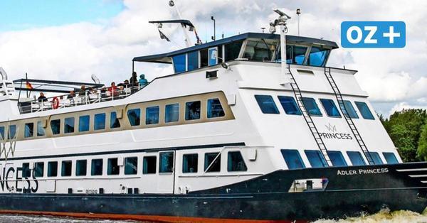 MS Princess bietet ab Juni Hafenrundfahrten in Swinemünde an