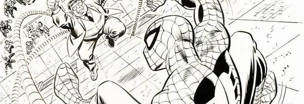 John Romita - Spider-Man Original Cover Art