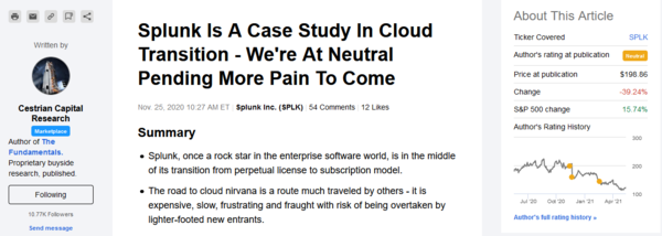 """Not Our First """"Transitioning To The Cloud"""" Rodeo"""